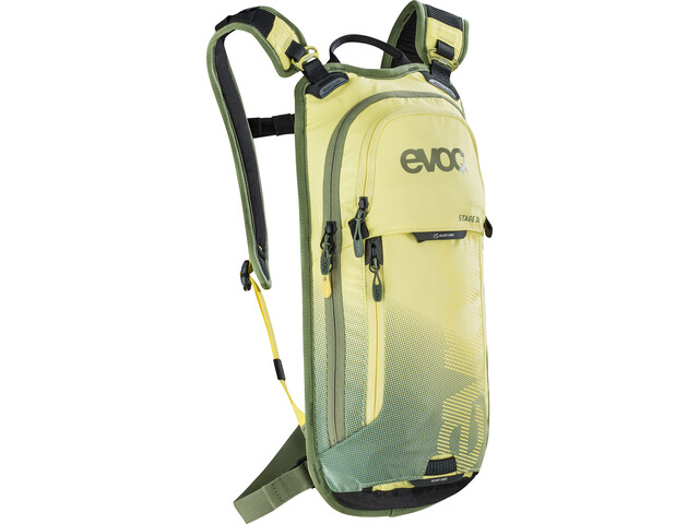 EVOC Stage Technical Performance Pack medium, yellow-light olive
